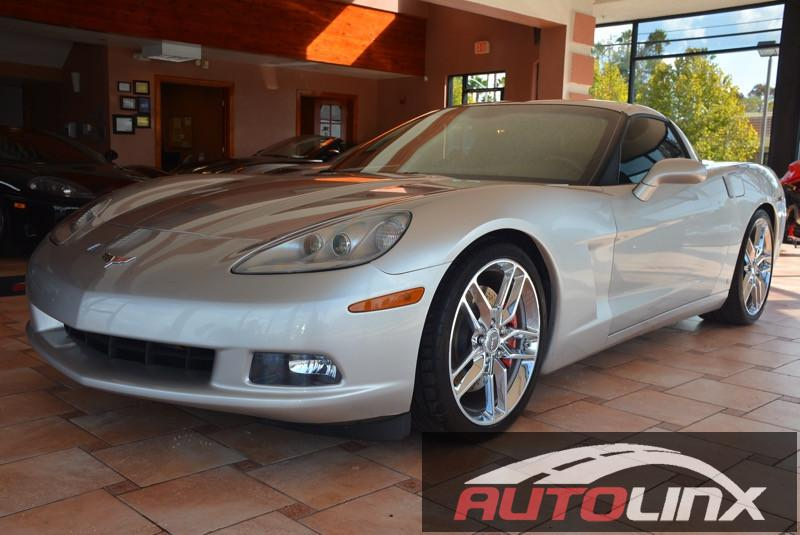 2006 Chevrolet Corvette Coupe LS2  6-Speed Manual Silver Black 6 speed Success starts with Aut
