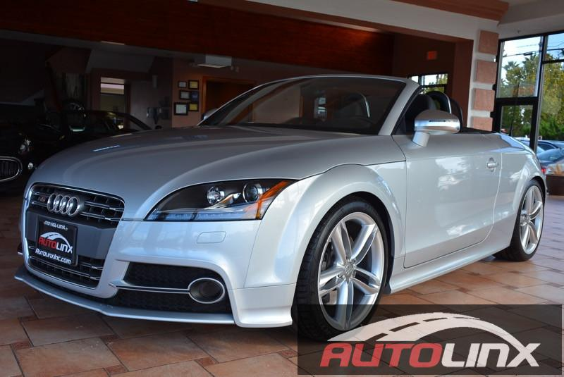 2013 Audi TT S 20T Roadster quattro S tronic 6-Speed Automatic Silver Black Bluetooth Hands-F