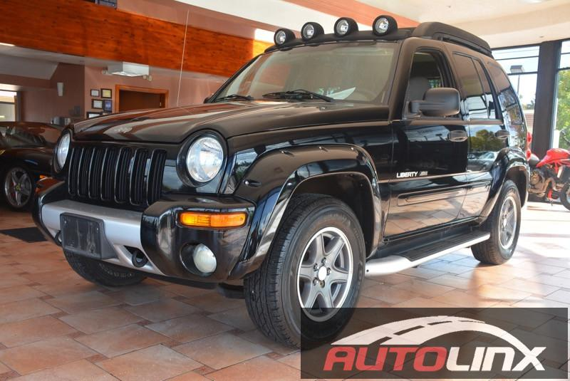 2003 Jeep Liberty Renegade 2WD Automatic Gray Black PowerTech 37 V6 Call ASAP Theres no subs