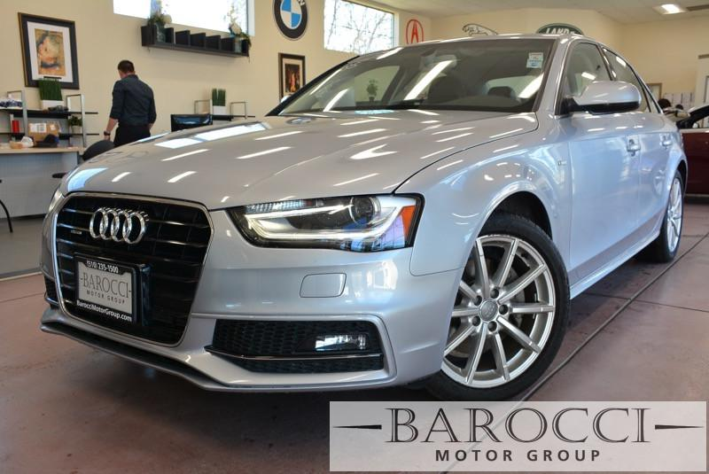 2015 Audi A4 20T quattro Premium AWD  4dr Sedan Automatic Silver Black Beautiful A4 2015 loade