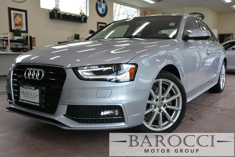 2015 Audi A4 20T quattro Premium AWD  4dr Sedan Automatic Silver Black On special with 31k mi