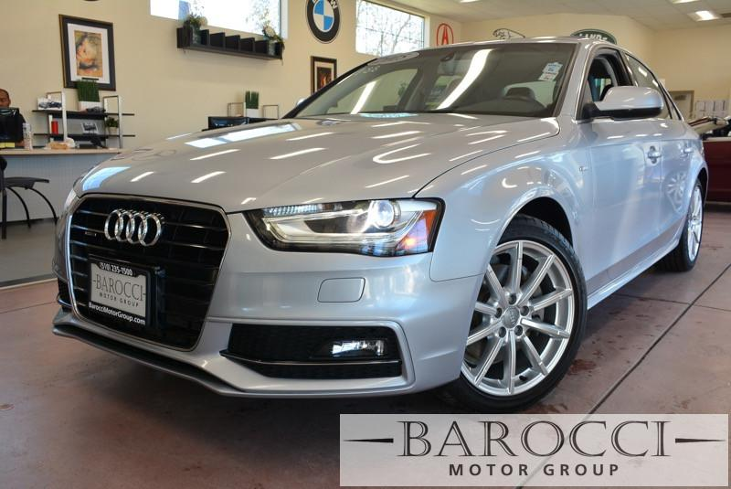 2015 Audi A4 20T quattro Premium AWD  4dr Sedan 8 Speed Auto Silver Black Beautiful S-Line qua