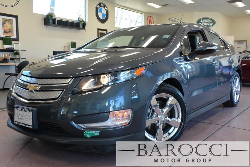 2012 Chevrolet Volt Premium 4dr Hatchback 1 Speed Auto Gray Black Loaded Premium Volt with Navi