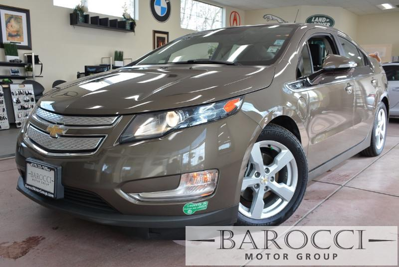 2014 Chevrolet Volt Base 4dr Hatchback 1 Speed Auto BROWN Beige Beautiful 2014 Volt with beige