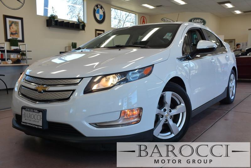 2014 Chevrolet Volt Premium 4dr Hatchback 1 Speed Auto White Beige This is a beautiful vehicle