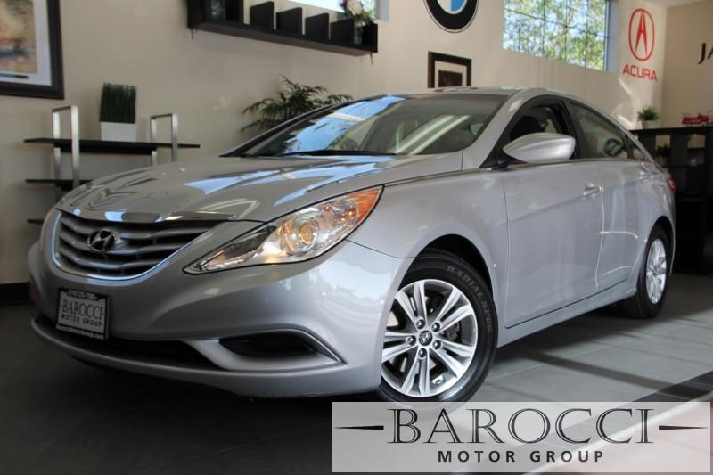 2013 Hyundai Sonata GLS 4dr Sedan 6 Speed Auto Silver Gray Features include Bluetooth phone con