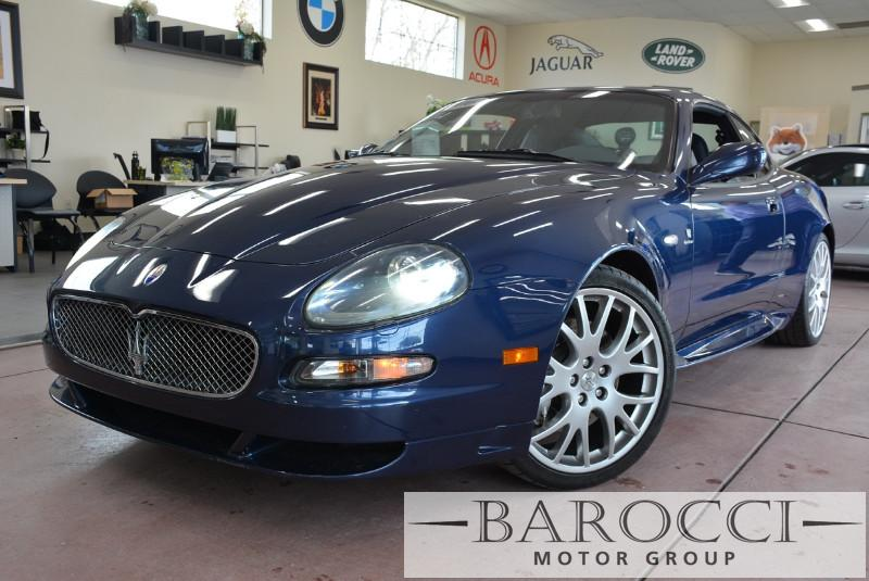 2006 Maserati GranSport LE 2dr Coupe 6 Speed Auto Blue Blue This is a beautiful vehicle in grea