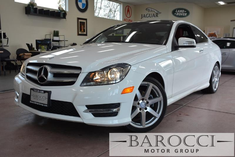 2013 MERCEDES C-Class C250 2dr Coupe Automatic White Red This beautiful One Owner car gets an e