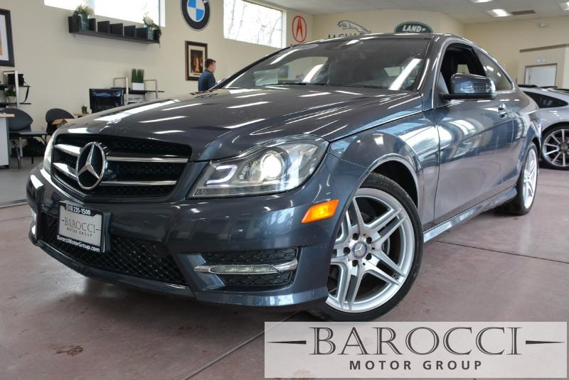 2014 MERCEDES C-Class C250 2dr Coupe 7 Speed Auto Gray Black This beautiful One Owner car gets