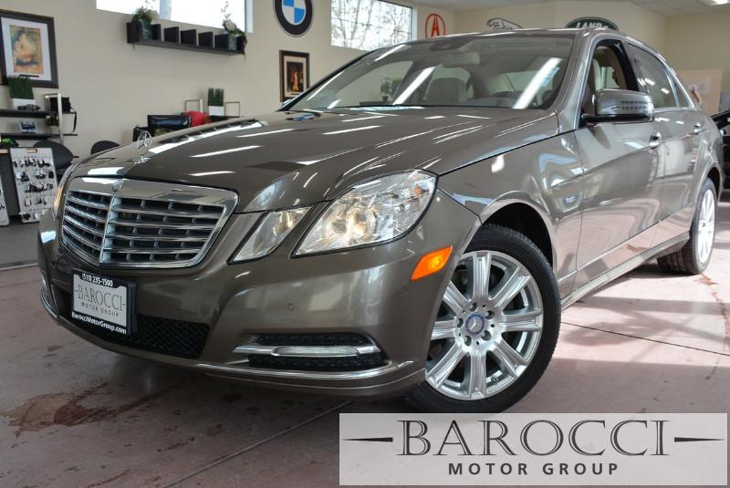 2012 MERCEDES E-Class E350 BlueTEC Sport 4dr Sedan 7 Speed Auto BROWN Beige Loaded Bluetec E-Cl