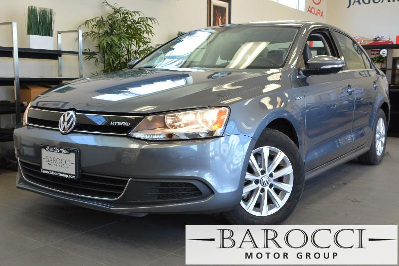 2013 Volkswagen Jetta Hybrid SEL 4dr Sedan Automatic Gray Gray Backup Camera Heated Seats Nav