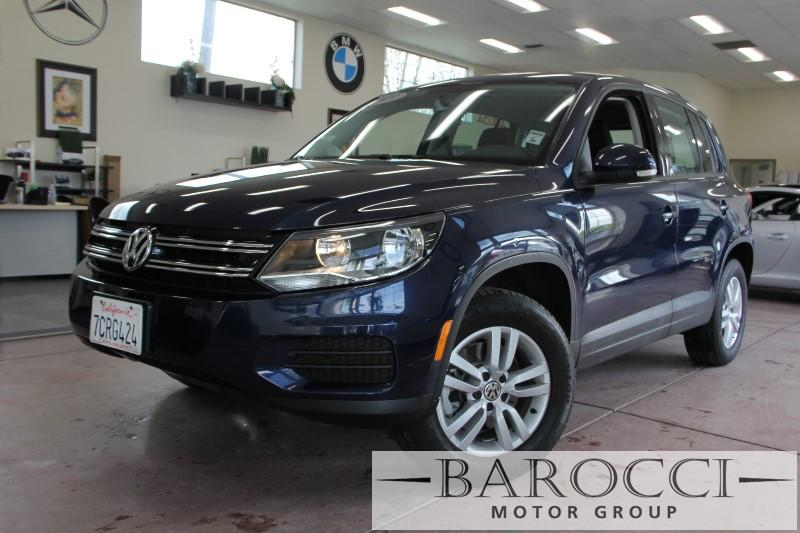 2013 Volkswagen Tiguan S 4dr SUV 6A 6 Speed Auto Dk Blue Child Safety Door Locks Power Door Lo