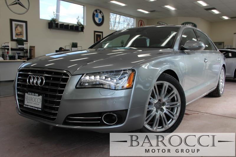 2014 Audi A8 30T LWB quattro 4dr Sedan 8 Speed Auto Gray Black ABS Air Conditioning Alarm A