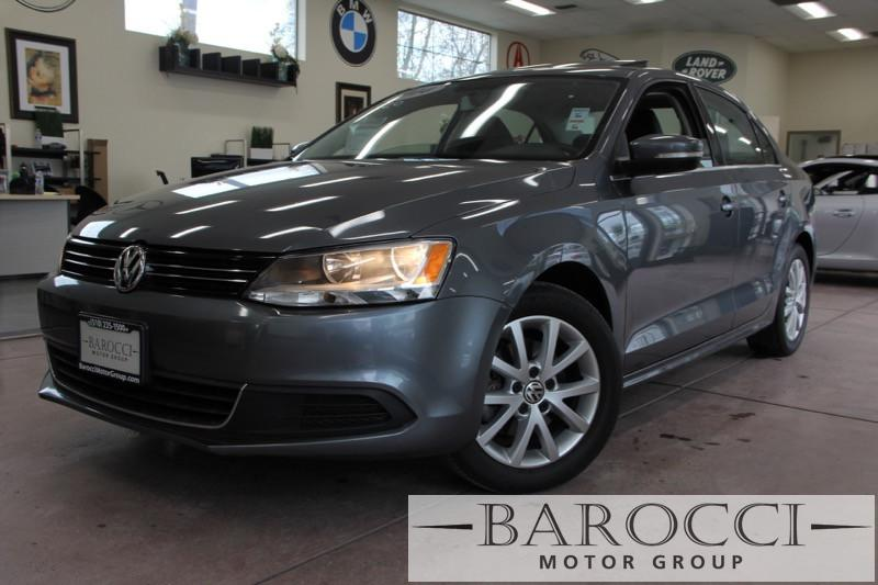 2014 Volkswagen Jetta SE PZEV 4dr Sedan 6A wConnectivi 6 Speed Auto Gray Black 1 8 liter inlin