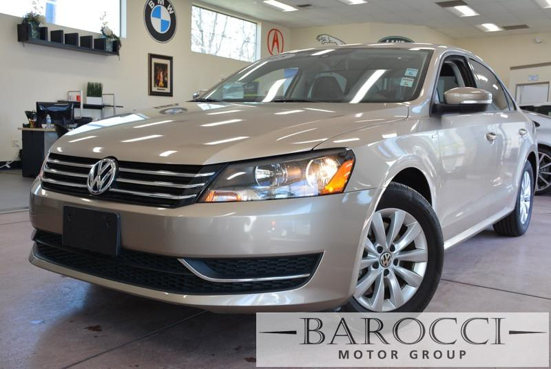 2015 Volkswagen Passat Wolfsburg Edition PZ 4dr Sedan 6 Speed Auto Silver Black ABS 4-Wheel Ai