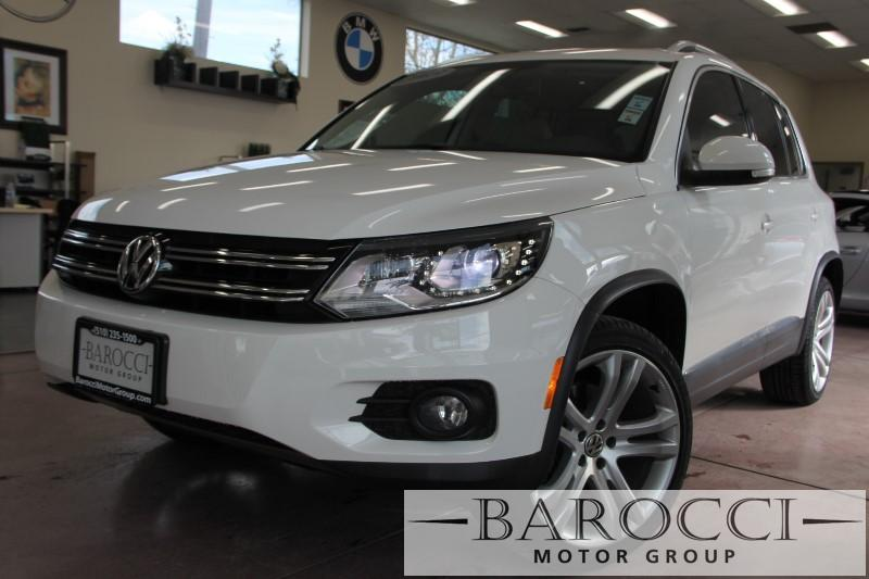 2013 Volkswagen Tiguan SEL 4 Door Sedan 6 Speed Auto White Champagne ABS Air Conditioning Ala