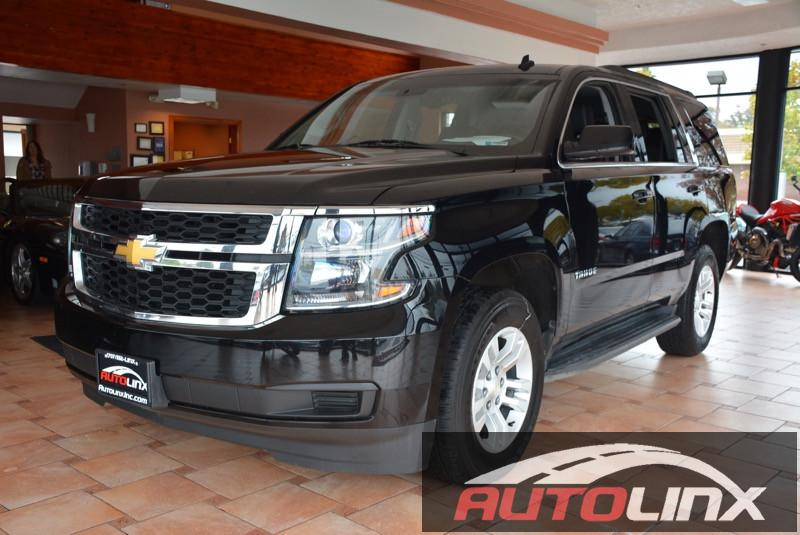 2015 Chevrolet Tahoe LT 4WD 6-Speed Automatic Black Black Bluetooth Hands-Free Portable Audio