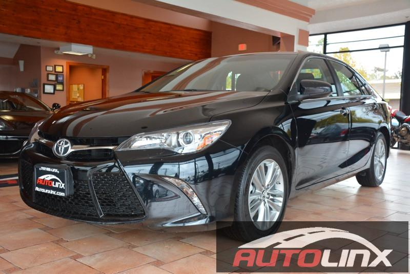 2016 Toyota Camry SE Sedan 4D Automatic Black Black Black Are you READY for a Toyota  Real Wi