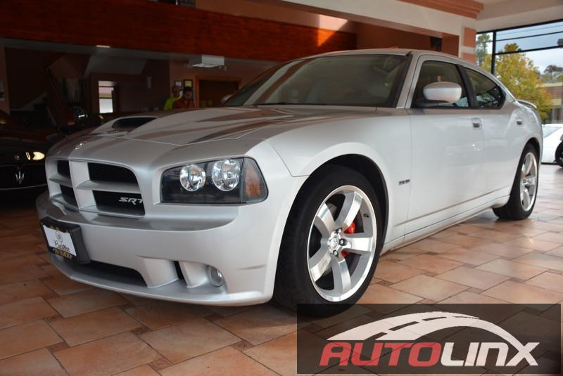 2007 Dodge Charger SRT8 5-Speed Automatic Silver Black Bluetooth Hands-Free Portable Audio Co
