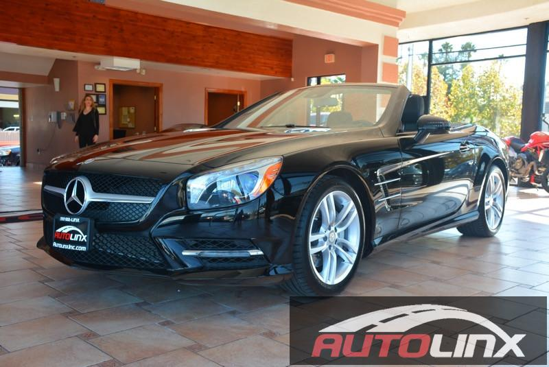 2015 MERCEDES SL-Class SL400 7-Speed Automatic Black Black Portable Audio Connection Navigatio