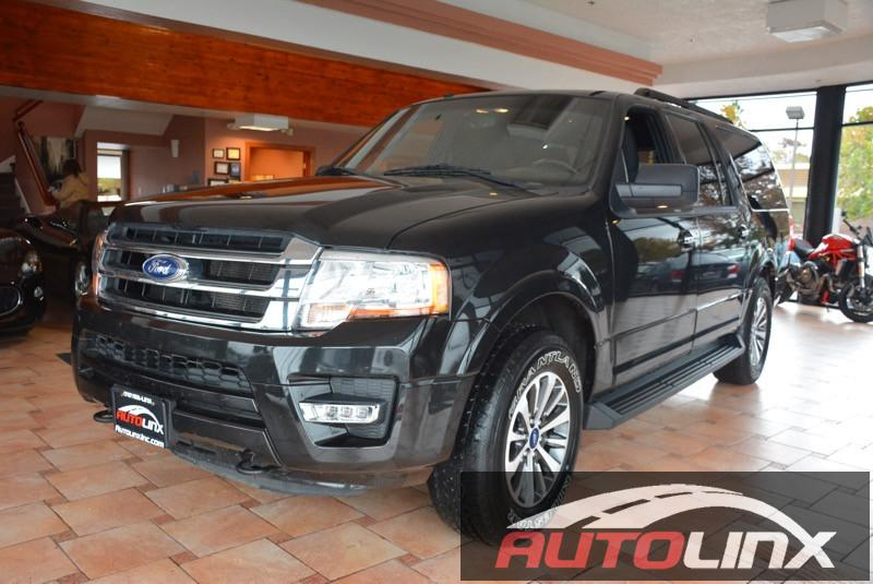 2015 Ford Expedition EL XLT 4WD 6-Speed Automatic Black Black Bluetooth Hands-Free Keyless En