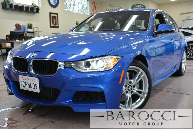 2014 BMW 3 Series 335i M Sport 4dr Sedan Automatic Blue Navigation Heads Up Display Rear View