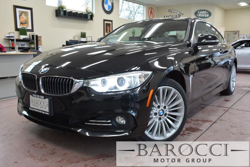 2014 BMW 4 Series 428i xDrive AWD Coupe SULEV 8 Speed Auto Black Brown Beautiful 428xi AWD has