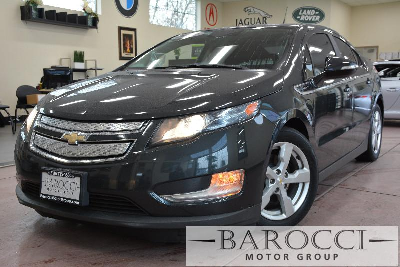 2014 Chevrolet Volt Base 4dr Hatchback 1 Speed Auto Gray Charcoal Beautiful Volt comes with cle