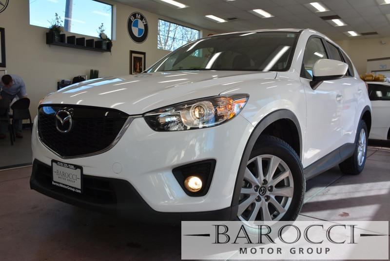 2015 Mazda CX-5 Touring AWD  4dr SUV 6 Speed Auto White ABS Air Conditioning Alarm Alloy Whee