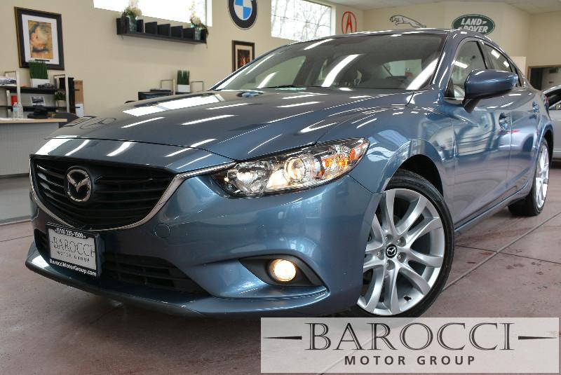 2014 Mazda MAZDA6 i Touring 4dr Sedan 6A 6 Speed Auto Blue ABS Air Conditioning Alarm Alloy W