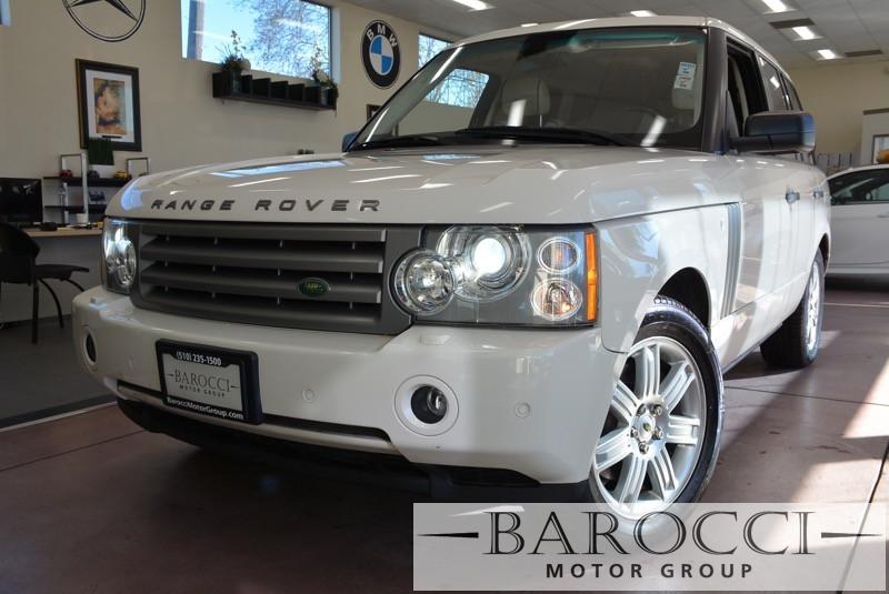 2008 Land Rover Range Rover HSE 4x4  4dr SUV 6 Speed Auto White Beige Beautiful Ranger rover co