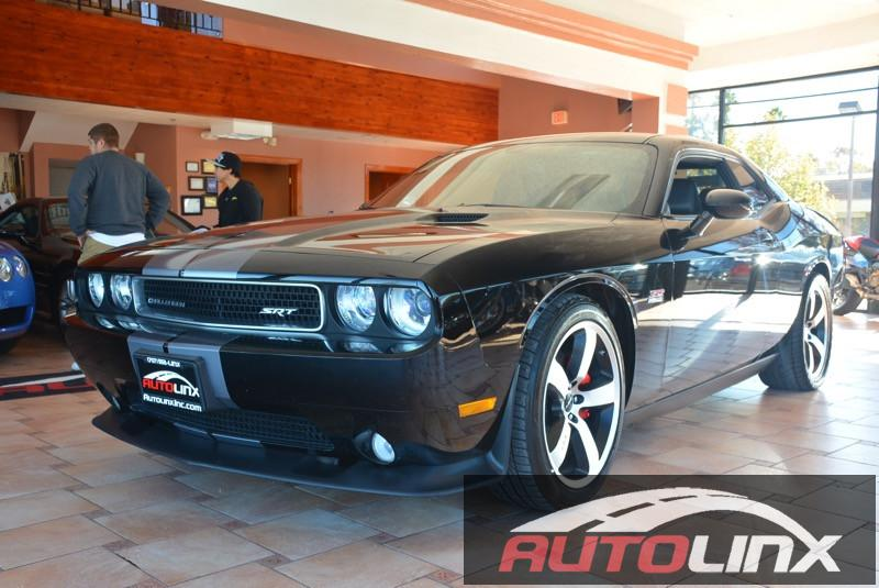 2012 Dodge Challenger SRT8 392 6 Speed Manual Black Black Leather Seats and Completely inspecte