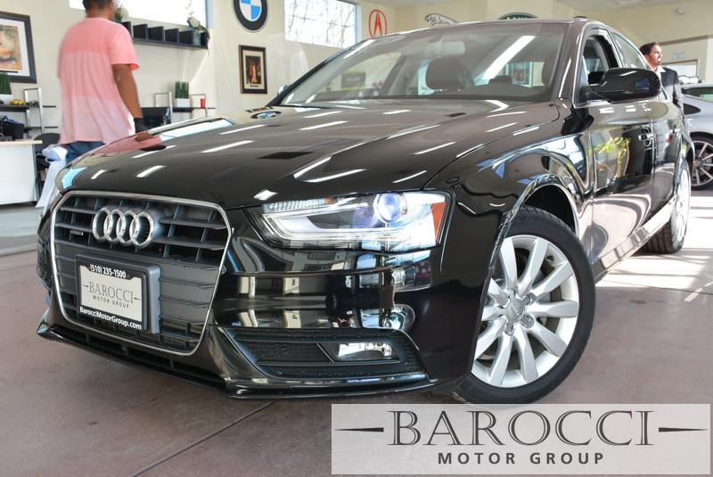 2013 Audi A4 20T quattro Premium AWD  4dr Sedan 8 Speed Auto Black Black Very well cared for A