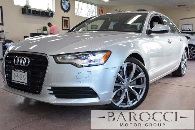 2013 Audi A6 20T quattro Premium Plus 4 dr 8 Speed Auto Silver Black This is a beautiful vehic