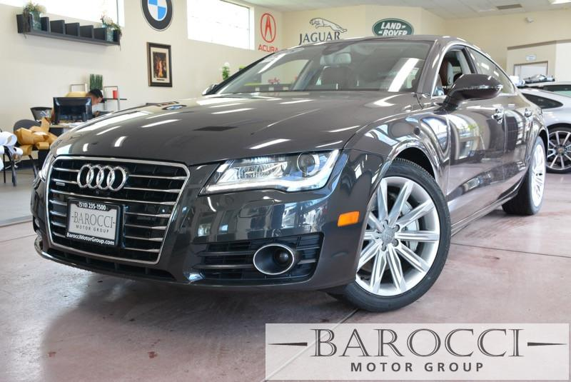 2015 Audi A7 30T quattro Premium Plus 8 Speed Auto BROWN Brown Unique A7 comes loaded with opt