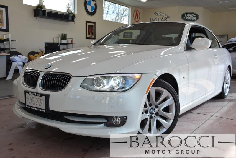 2013 BMW 3 Series 328i 2dr Convertible Automatic White ABS Air Conditioning Alarm Alloy Wheel