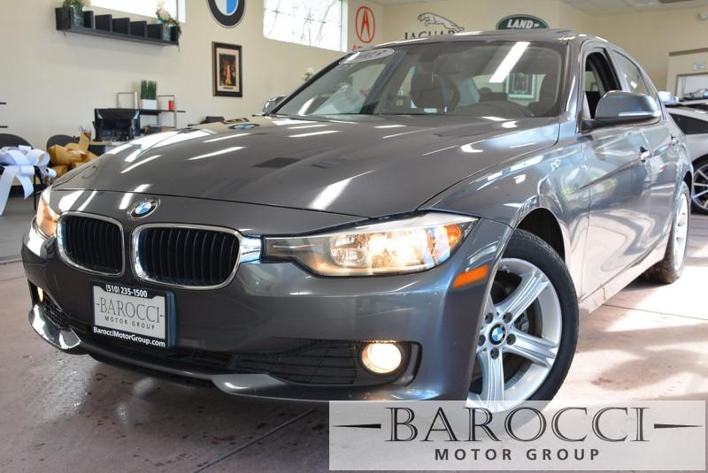 2013 BMW 3 Series 320i 4dr Sedan 8-Speed Automatic Gray Beautiful 320i BMW with many options inc