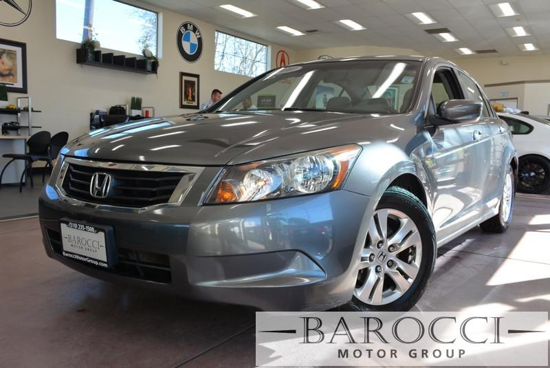 2010 Honda Accord LX-P 4dr Sedan 5A 5 Speed Auto Gray Gray Air Conditioning Alarm Power Steer
