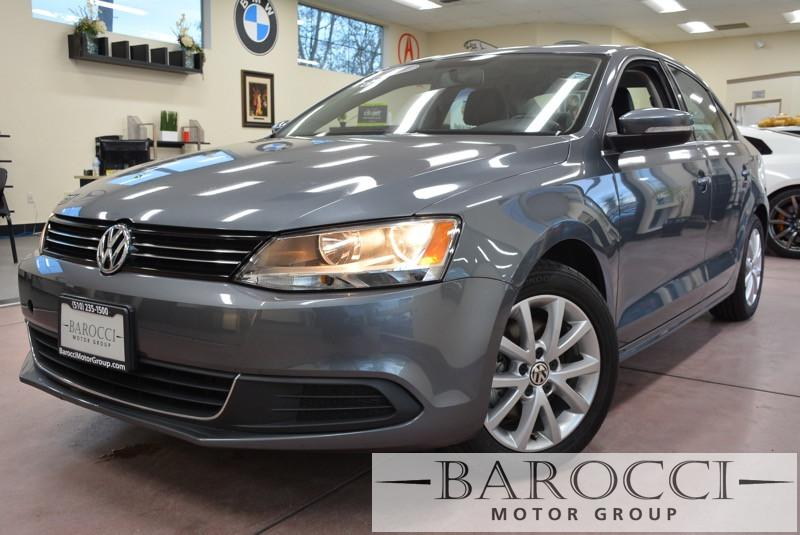 2013 Volkswagen Jetta SE PZEV 4dr Sedan 6A 6 Speed Auto Gray Child Safety Door Locks Power Door