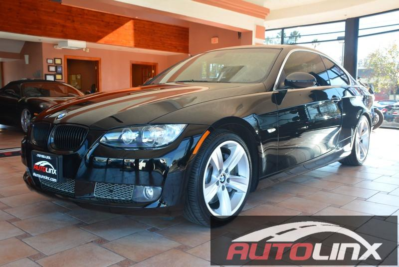 2007 BMW 3-Series 335i Coupe Automatic Black Black Bluetooth Hands-Free Portable Audio Connec