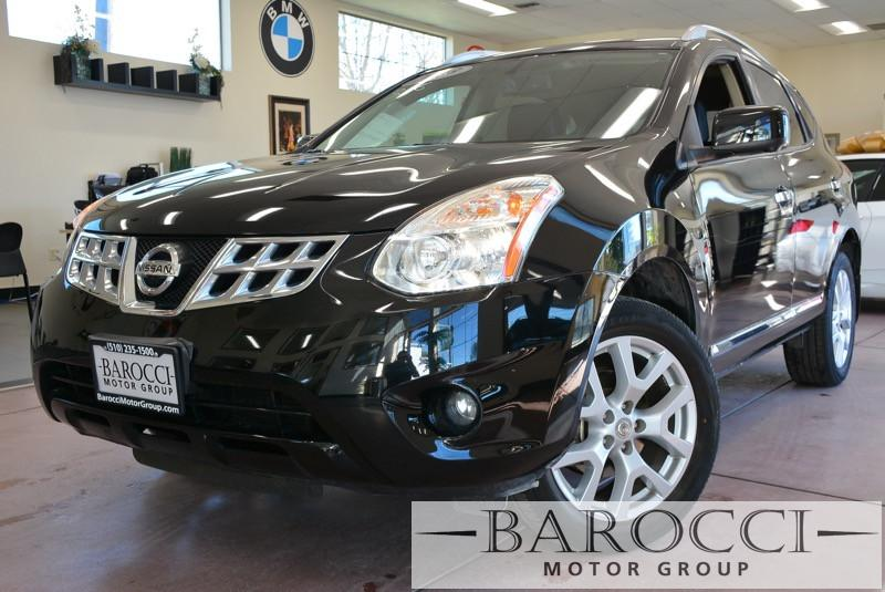 2013 Nissan Rogue SL AWD 4dr Crossover Continuously Variable Tra Black Black Beautiful AWD Rogu