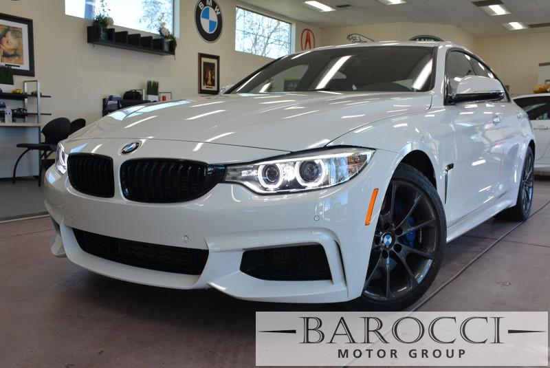 2016 BMW 4-Series Gran Coupe 435i 8-Speed Automatic White Black This is an amazing 435i Gran Co