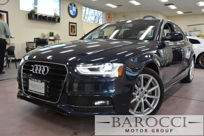 2016 Audi A4 20T Premium 4dr Sedan Automatic CVT Black ABS 4-Wheel Air Conditioning AM FM Ste