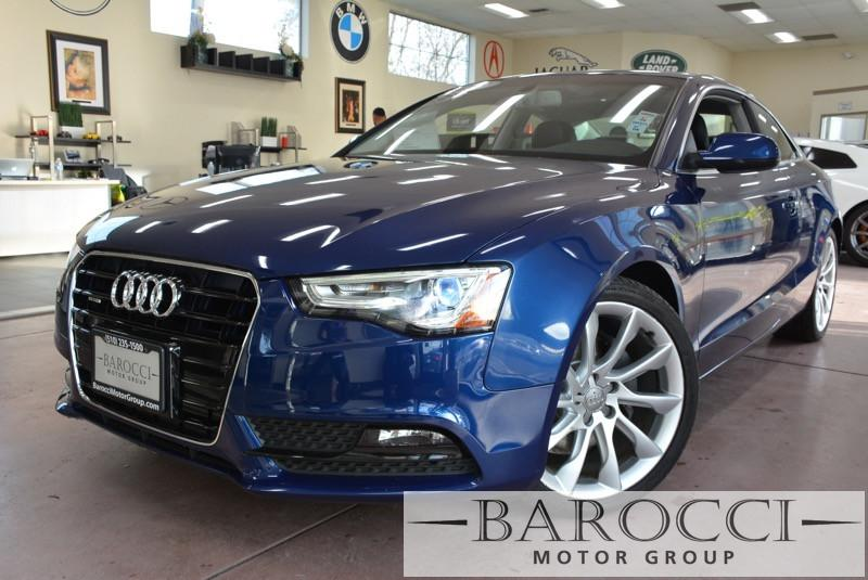 2013 Audi A5 20T quattro Premium PlusAWD 8 Speed Auto Blue Navigation Rear View Camera Parkin