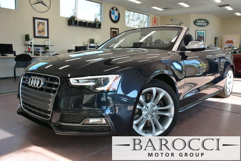 2013 Audi S5 30T quattro Premium AWD  2dr Conve 7 Speed Auto Blue ABS Air Conditioning Alarm