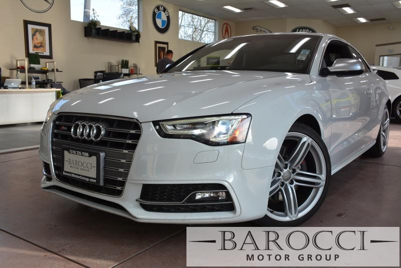 2013 Audi S5 30T quattro Premium AWD  2dr Coupe 7 Speed Auto White ABS Air Conditioning Alarm