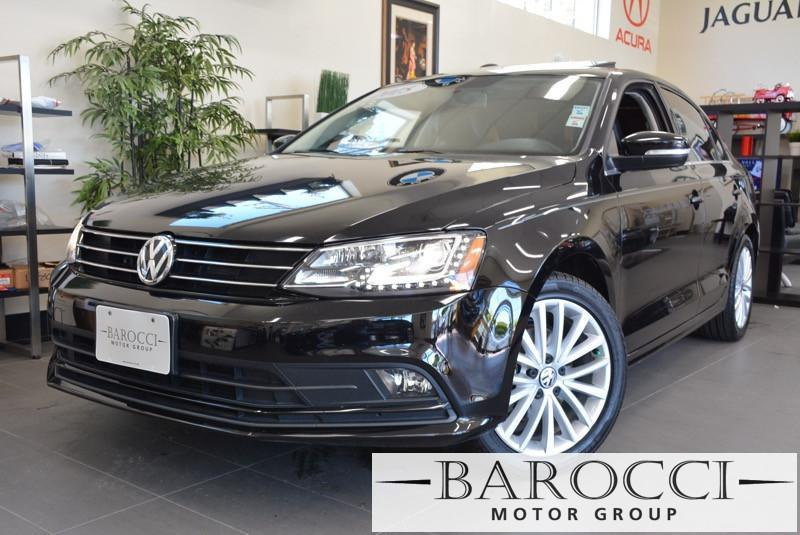 2015 Volkswagen Jetta SE PZEV 4dr Sedan 6A 6 Speed Auto Black Black This is a beautiful vehicle