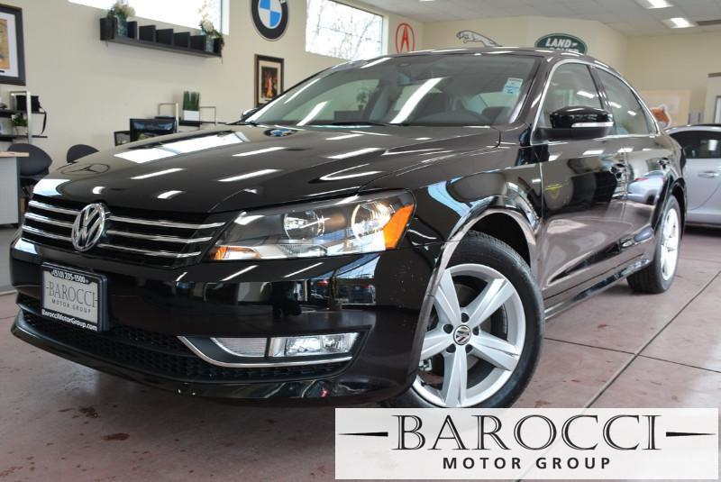 2015 Volkswagen Passat Wolfsburg Edition PZ 4dr Sedan 6 Speed Auto Blue Tan Beautiful 1-owner V