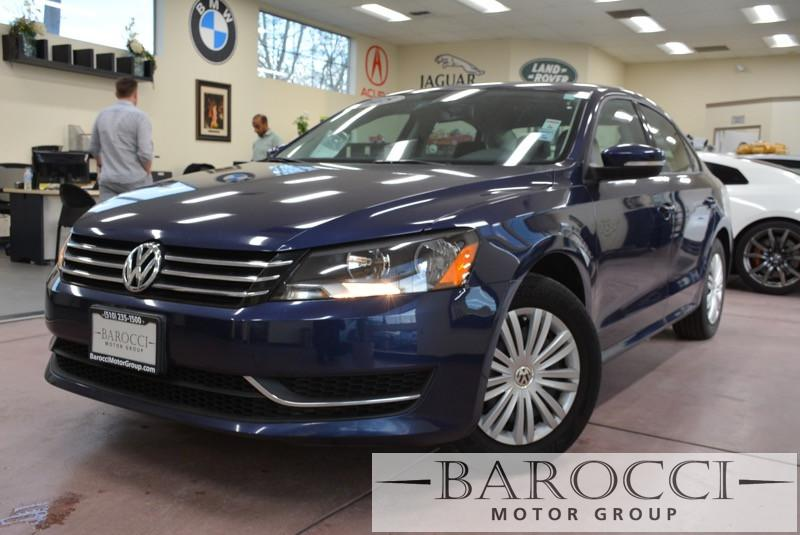 2015 Volkswagen Passat S PZEV 4dr Sedan 5M Automatic Blue Black Beautiful VW Passat comes with