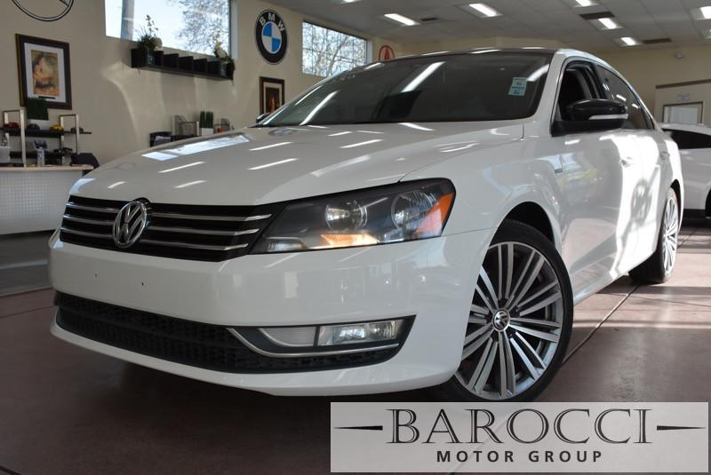 2015 Volkswagen Passat Sport PZEV 4dr Sedan 6A 6 Speed Auto White Off White Beautiful Limited p